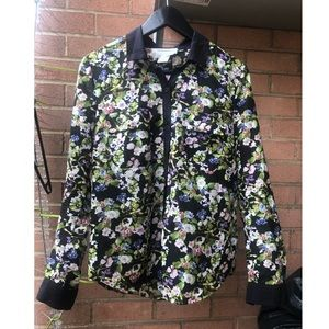Coincidence & Chance Button-up floral Shirt